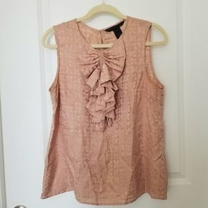 Marc by Marc Jacobs Sleeveless Blouse w/ Ruffle